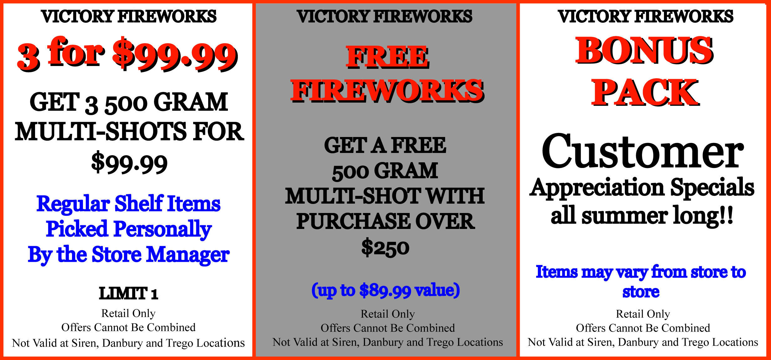 Fireworks Coupons