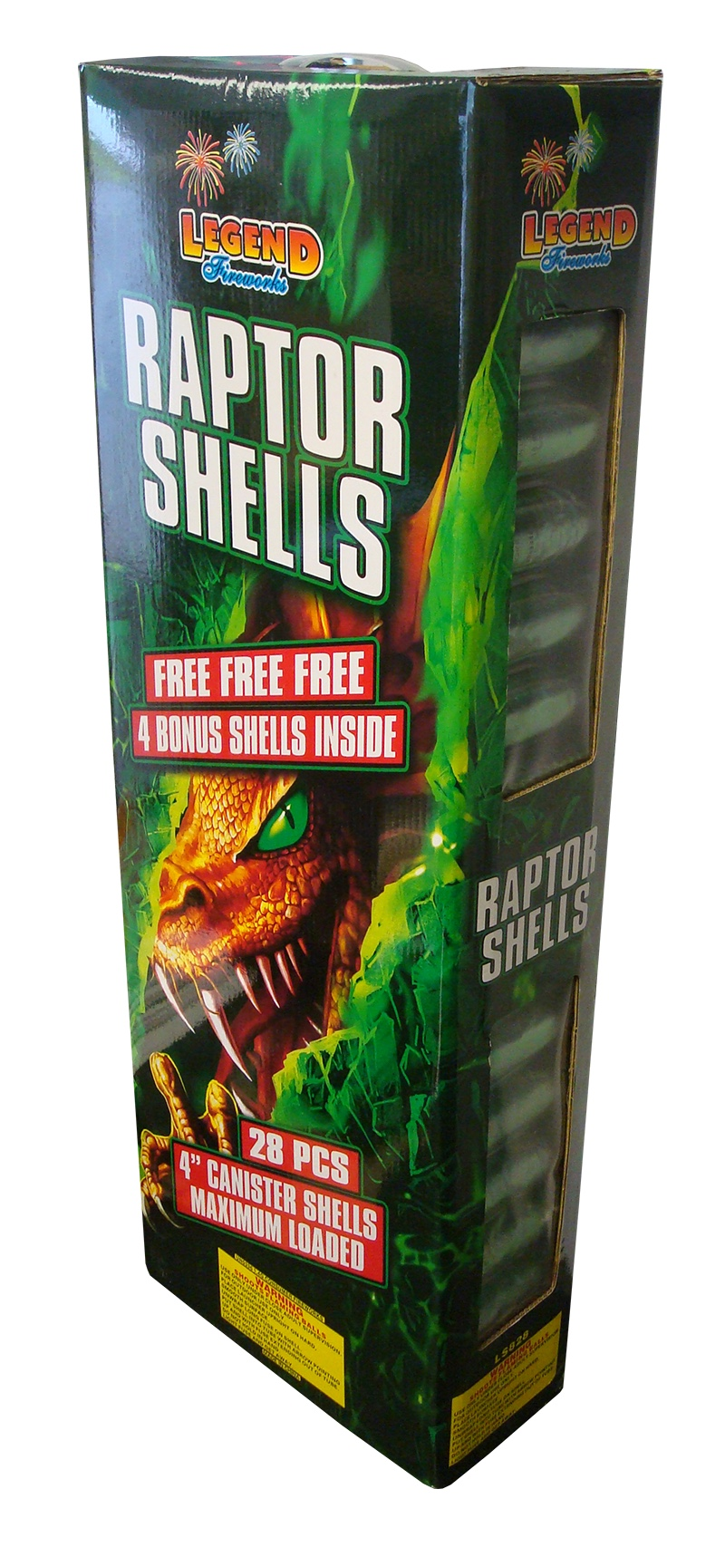 RAPTOR SHELLS (NEW)